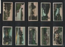 Cigarette cards set 1926 River Valleys England countryside photo